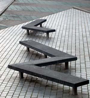 Par s mobiliario urbano en la villette for Ejemplos de mobiliario urbano